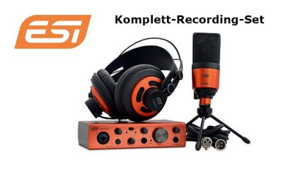 Neu: Komplett-Recording-Set von ESI
