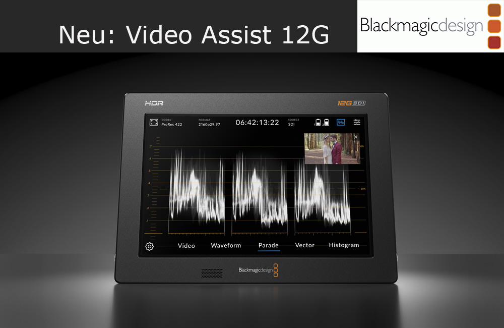 Blackmagic Design – Video Assist 12G
