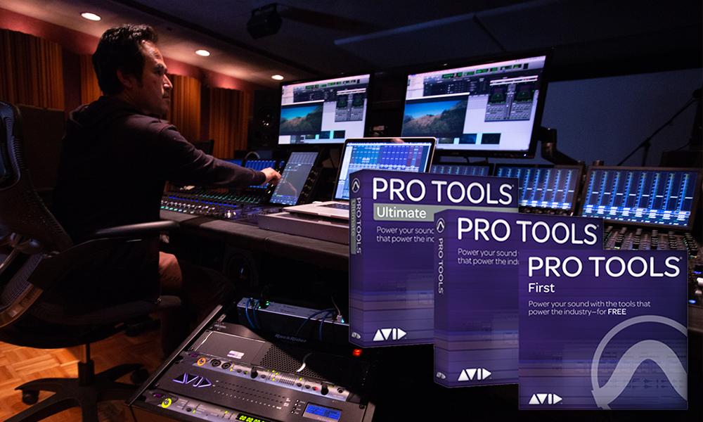 Avid veröffentlicht Pro Tools 2019.10