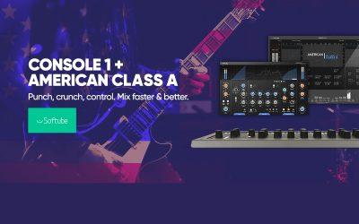 Softube Console 1 MKII Promo bis 31. 12. 2019