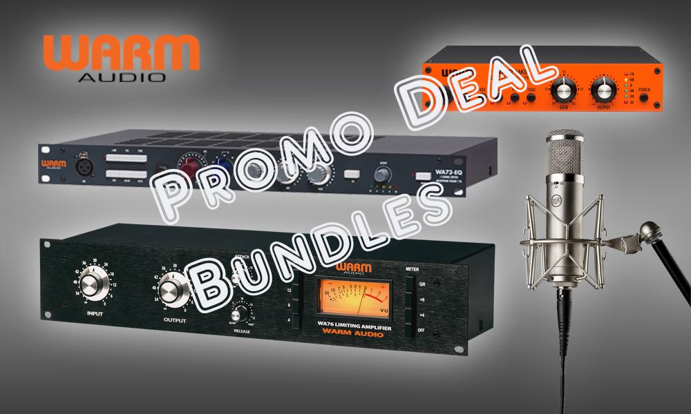 Warm Audio Promo Deals bis 15. Dezember 2019