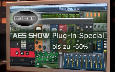AES SHOW – mcDSP Plug-in Special ab 16.10.2019