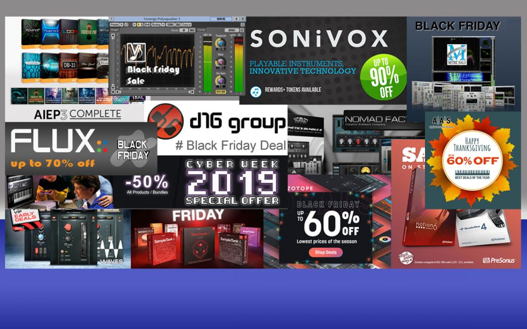 Black Friday Sale – Software bis zu 90% Rabatt