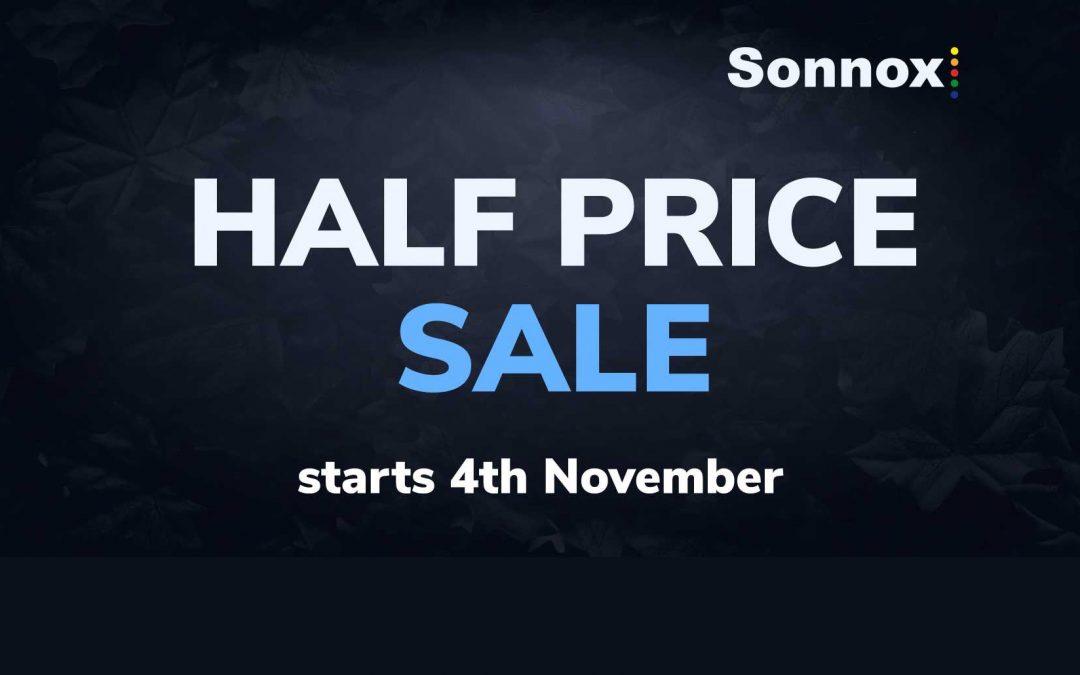 "Sonnox Plugins ""HALF PRICE"" Promo"
