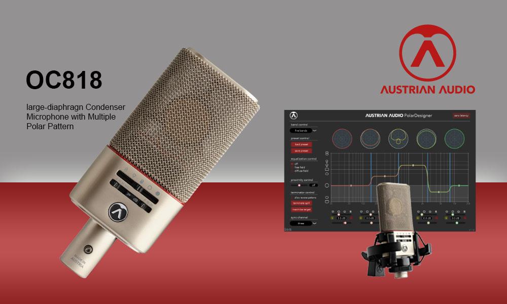 Austrian Audio OC818 – Teststellung reservieren