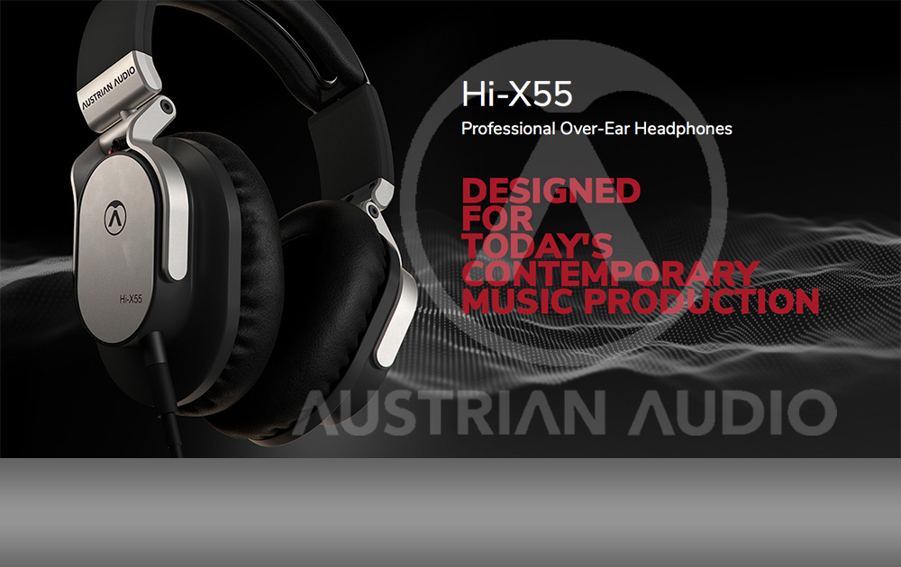 NEW: Austrian Audio HI-X55 Kopfhörer