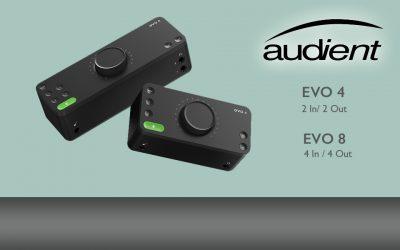 NEU: Audient stellt neue EVO Serie vor.