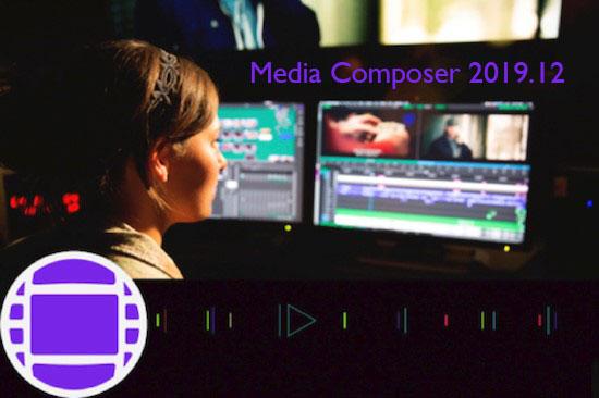 Avid Media Composer 2019.12 verfügbar