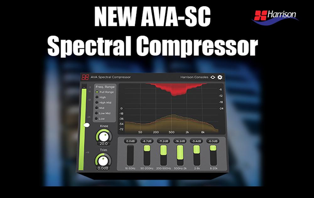 NEW: Harrison AVA-Spectral Compressor
