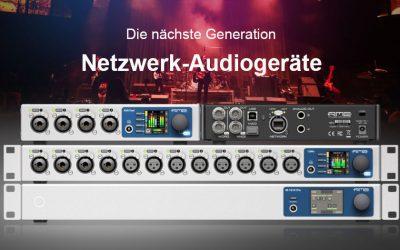 RME AVB Netzwerk-Audiogeräte