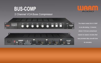 NEU: Warm Audio Bus-Compressor
