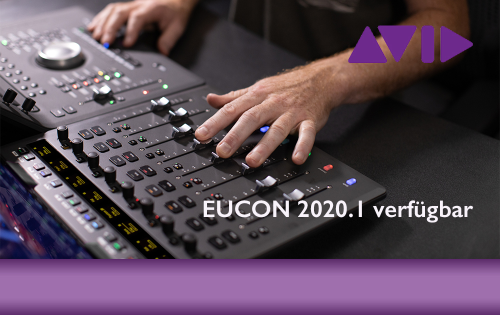 New: Avid Eucon 2020.1 verfügbar