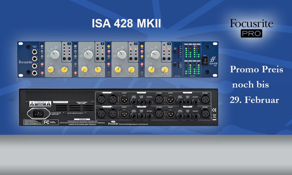 Focusrite ISA 428 MKII – Promo noch bis 29.02.