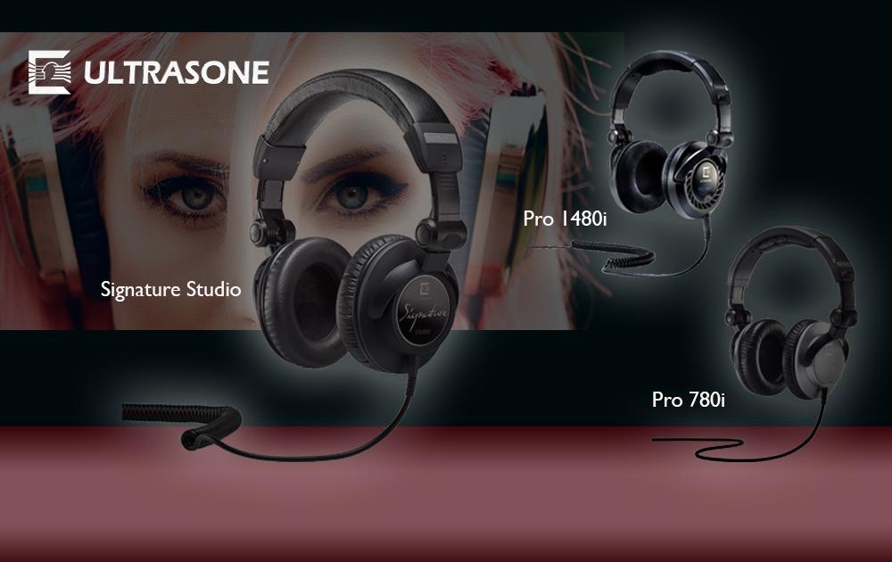 Studio- und Referenz-Kopfhörer von Ultrasone