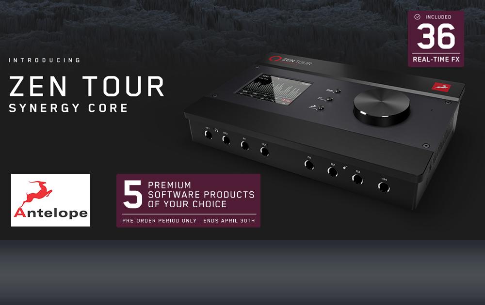 Zen Tour Synergy Core inkl. 5 Free Plug-ins