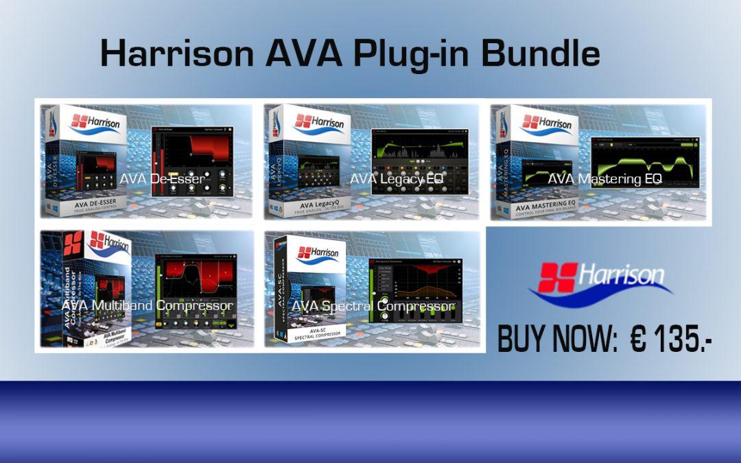 Harrison AVA Plug-in Bundle € 135.- inkl. Mwst