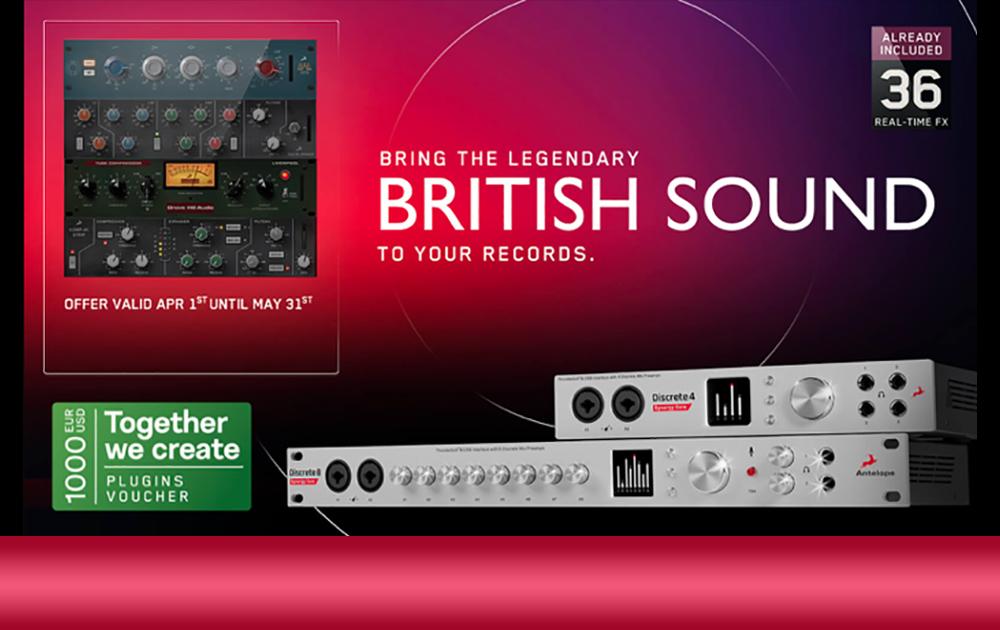 Antelope Discrete with British Sound FX