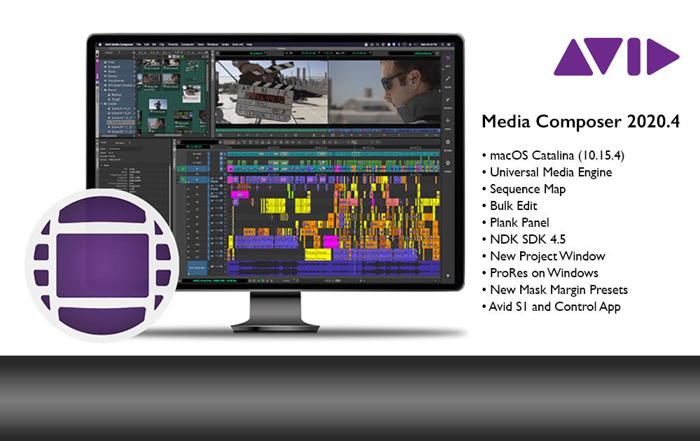 Avid Media Composer Version 2020.4