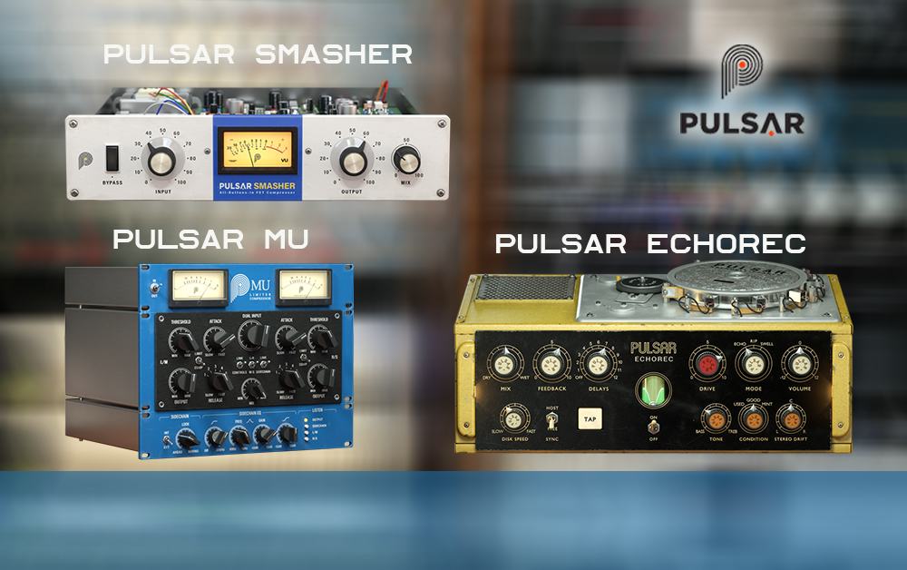Pulsar Audio – Plugins bis zu 70% Rabatt