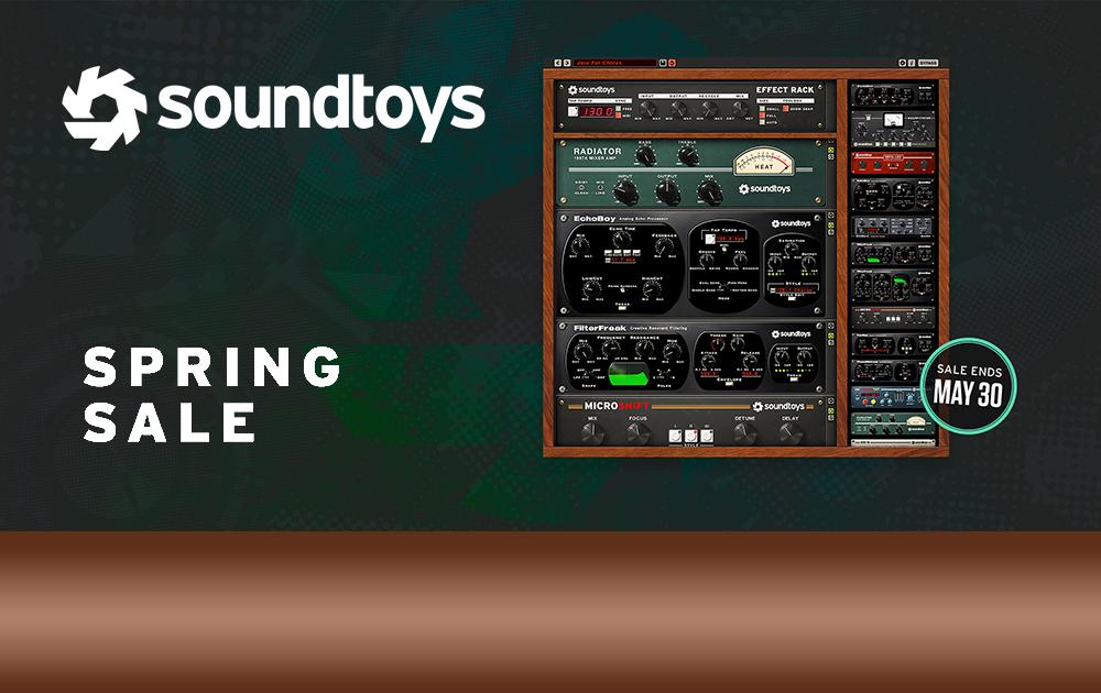 Soundtoys Spring Sale und Effect Rack Neu