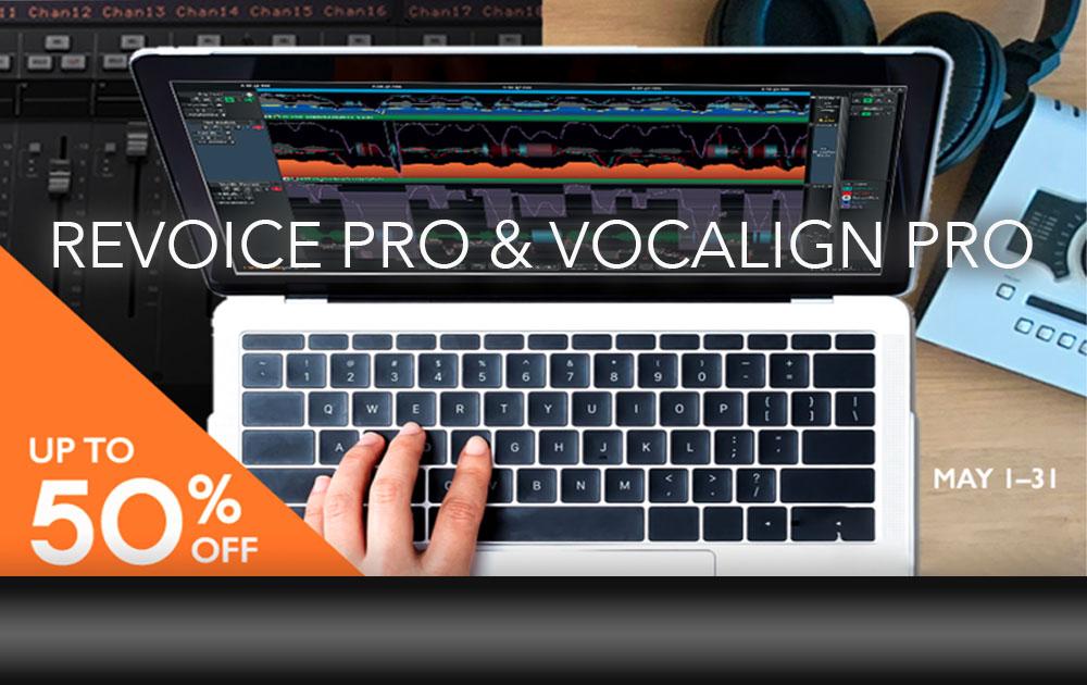 ReVoice Pro 4 und VocAlign Pro 4 Promo