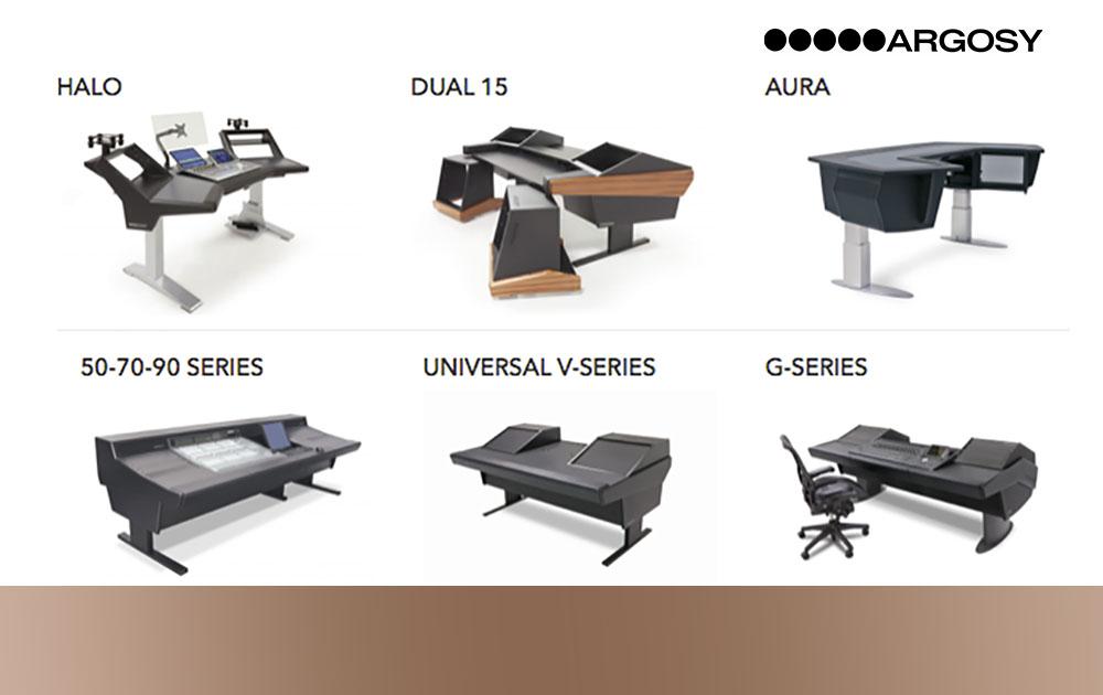 Argosy – Flexible und innovative Studiomöbel