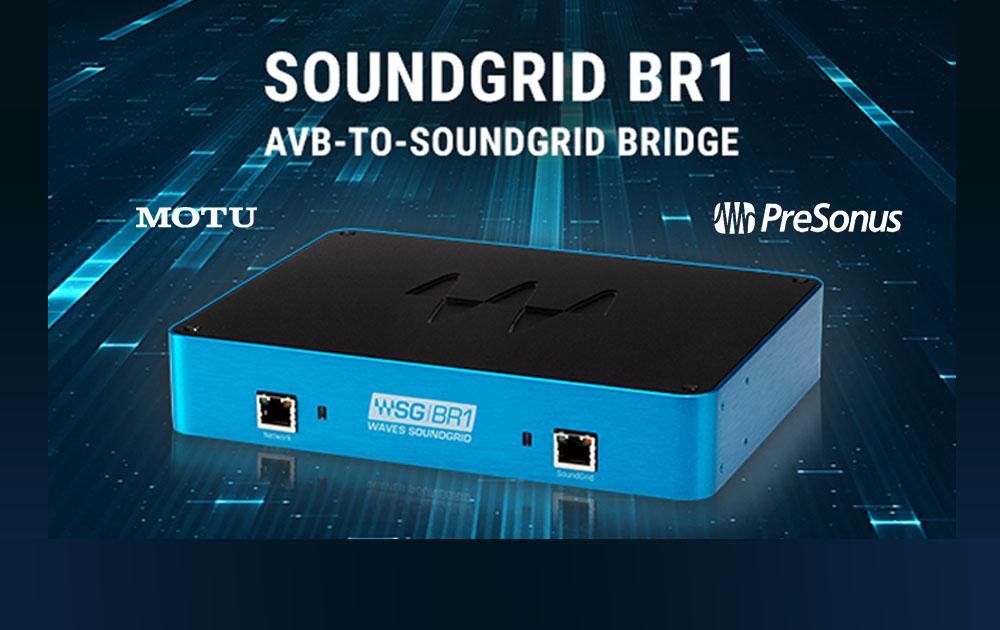 Soundgrid BR-1 AVB to Soundgrid-Bridge