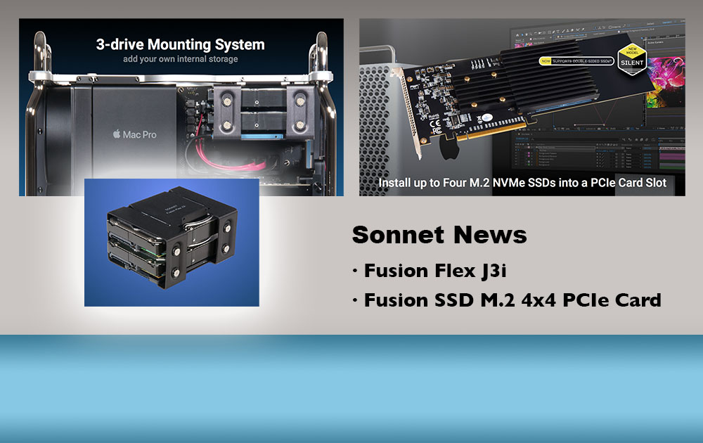 """""""What´s New"""" bei Sonnet Technologies"""