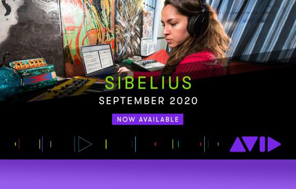 Avid Sibelius 2020.9 absofort verfügbar