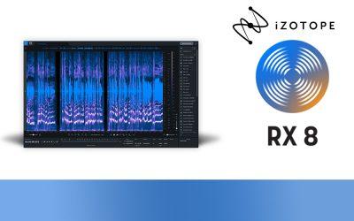 iZotope veröffentlicht RX Version 8