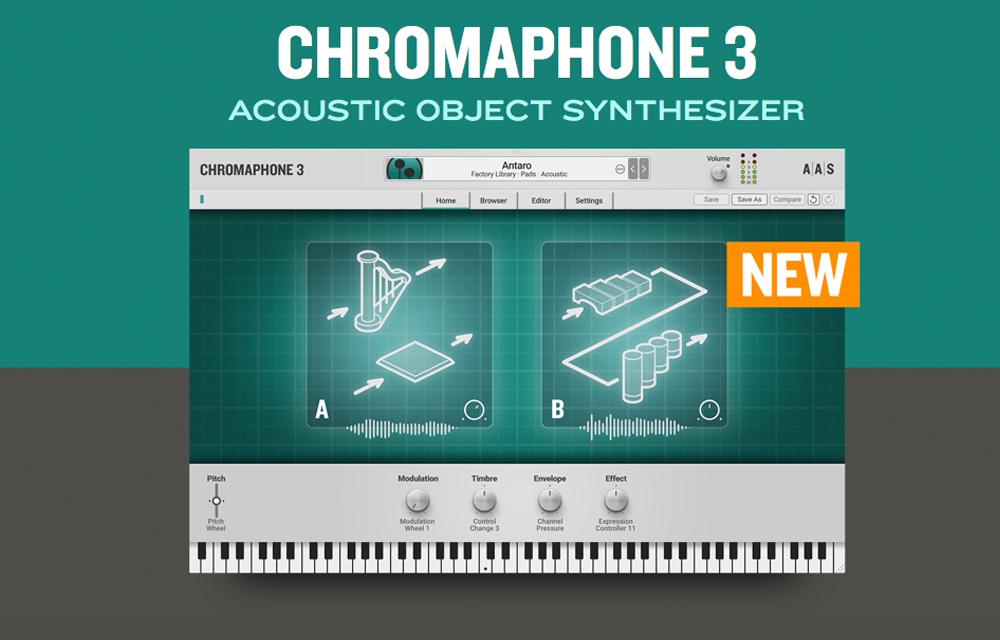 NEU: Applied Acoustics Systems – Chromaphone 3