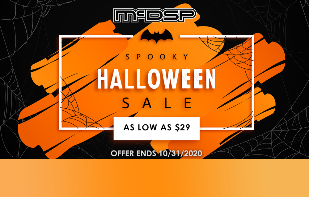 "mcdsp ""Spooky"" Halloween Sale"