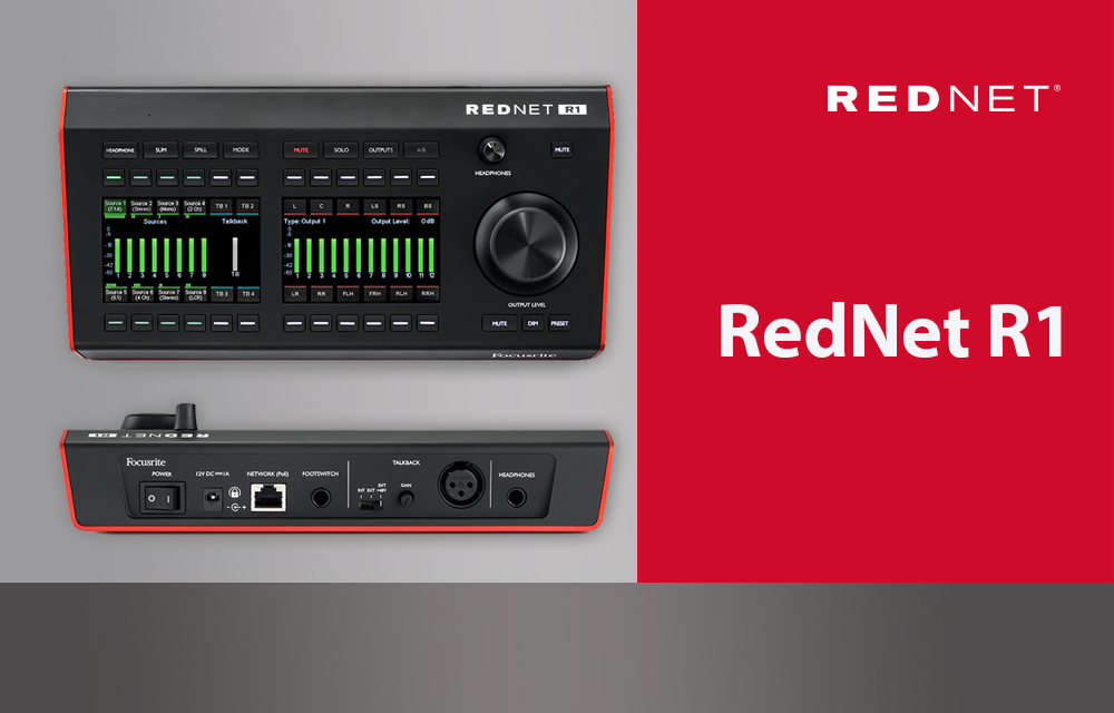 NEU: Focusrite RedNet R1