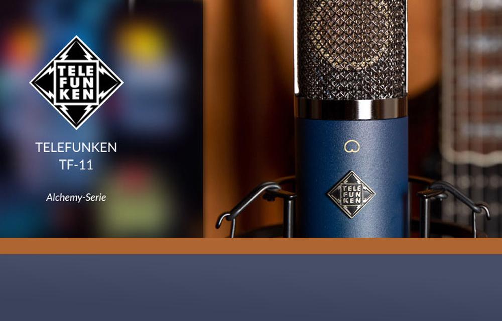 NEU: Telefunken TF11FET Kondensatormikrofon