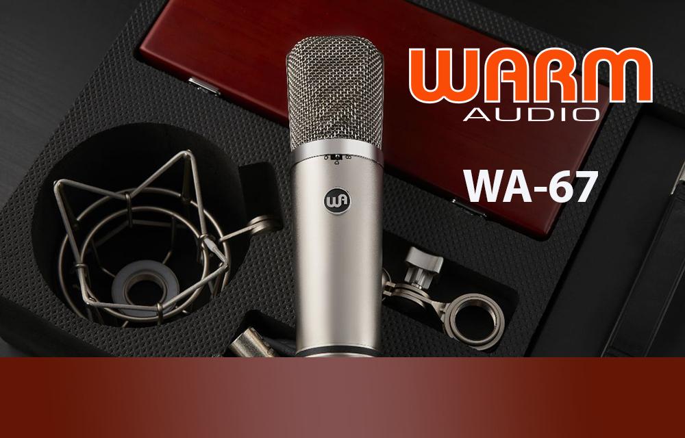 NEU: Warm Audio WA-67 Röhrenmikrofon