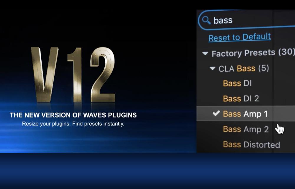 Neu Version der Waves Plugins – V12!