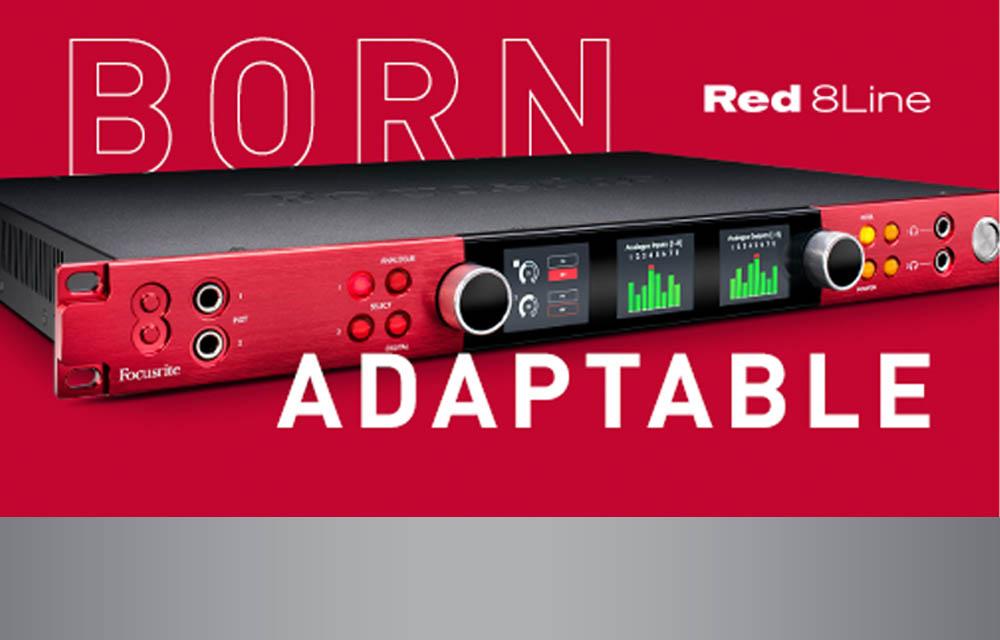 Focusrite: Red 8Line ab sofort verfügbar
