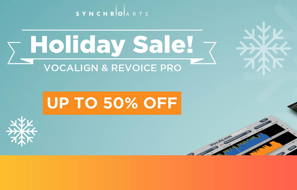 """Synchro Arts """"Holiday Sale"""" bis 31.12.2020"""