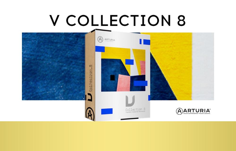 NEU: Arturia V Collection 8 jetzt verfügbar