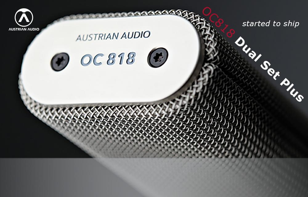 Austrian Audio OC818 Dual Set Plus lieferbar!