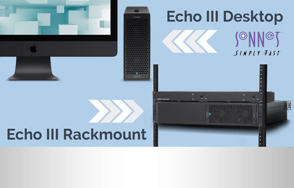 Neu: Sonnet Echo III 3 Slot PCIe Thunderbolt Chassis