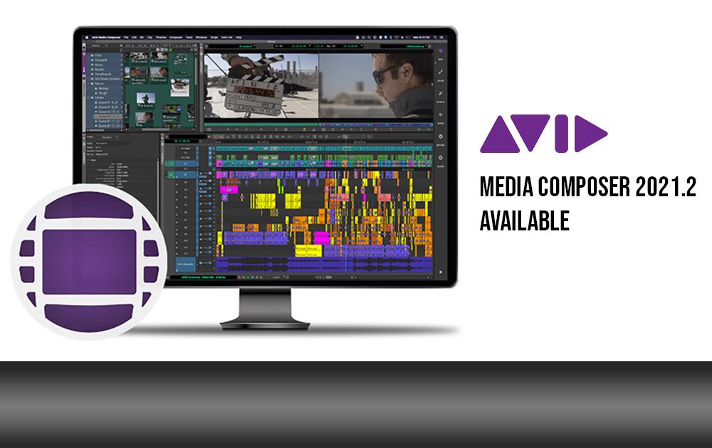 Media Composer 2021.2 verfügbar
