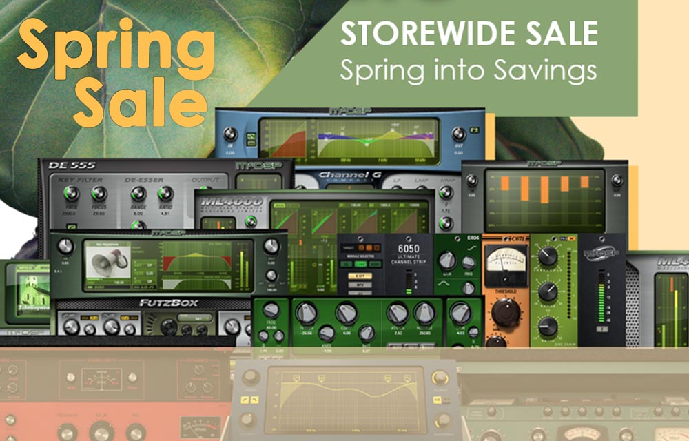 mcDSP Plugins – Spring Sale is Live