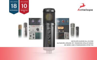 Neu: Antelope Axino Synergy Core Mikrofon