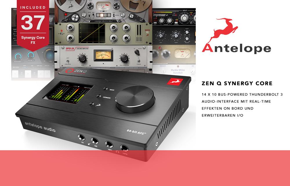 NEU: Antelope Zen Q Synergy Core