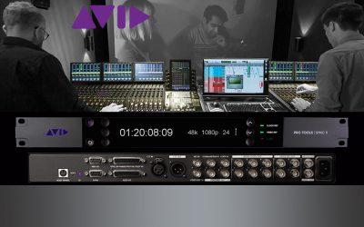 Neu: Avid Sync X Precision Synchronizer