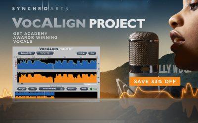 Synchro Arts – VocAlign Project Promo