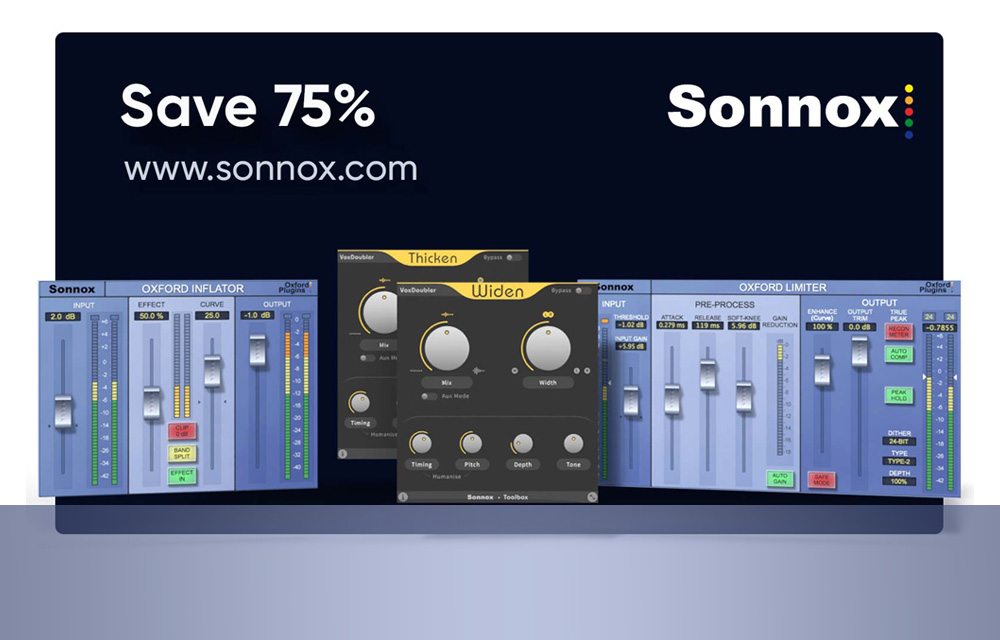 Sonnox Plug-ins: Summer Sale 2021
