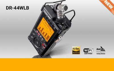 NEU: Tascam DR-44WLB 4 Spur-Handheld-Recorder