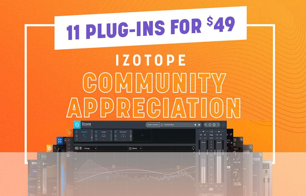 iZotope – Community Appreciation Bundle